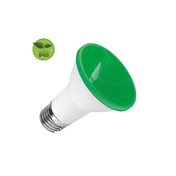LAMPADA LED PAR 20 6W E27 IP65 BIVOLT VERDE