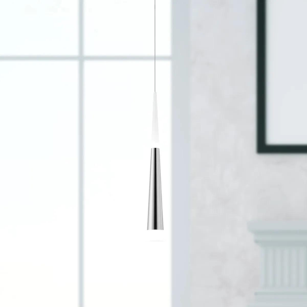 PENDENTE COMER LED 5W 3000K NIQUEL