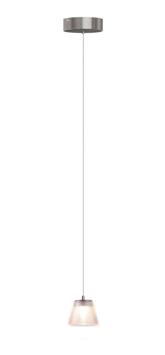 PENDENTE URANUS LED 5W 3000K NIQUEL