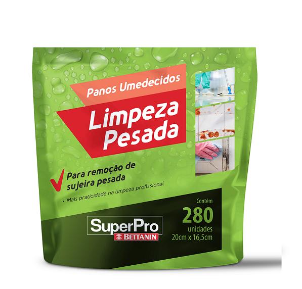 REFIL PANO UMEDECIDO LIMPEZA PESADA SP17102R