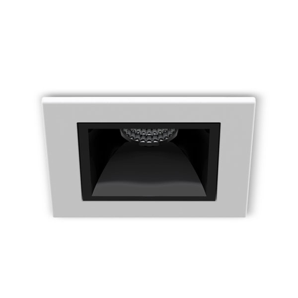 SPOT EMBUTIR PICCO LED 3W 2700K INTERLIGHT-IL4991 BRANCO