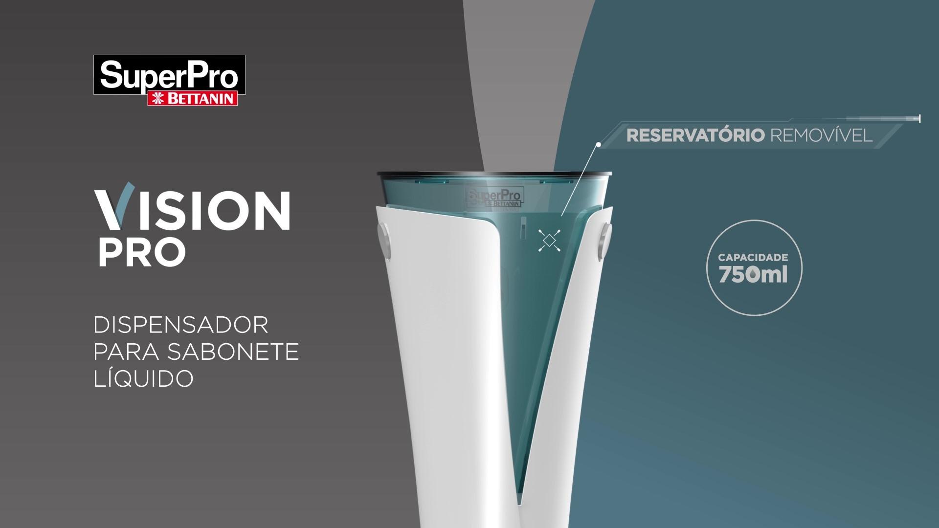 SUPORTE P/SABONETE LIQUIDO VISION BETTANIN LANÇAMENTO