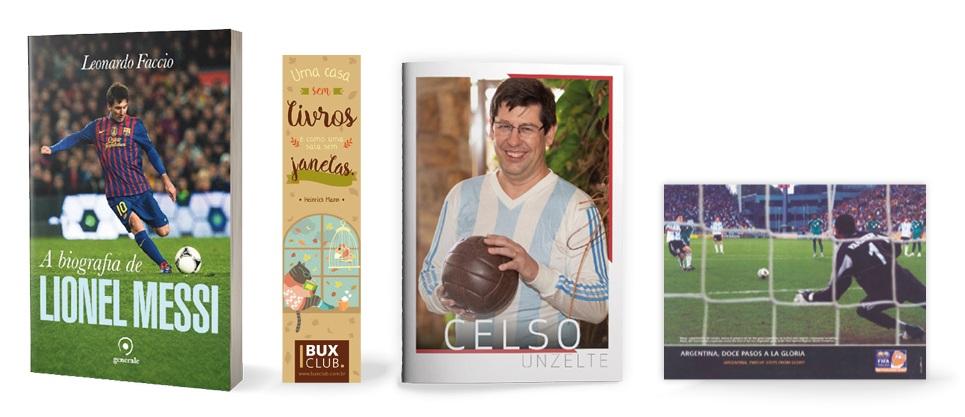 Kit C. Unzelte - A biografia de Lionel Messi