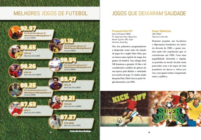 Almanaque dos games de futebol