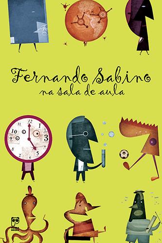 Fernando Sabino na sala de aula