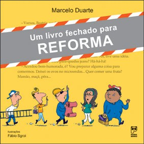 Um livro fechado para reforma