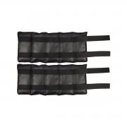 Caneleira e Tornozeleira com Velcro e Pesos Par