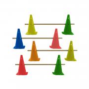 Cones com Barreiras para Treino de Agilidade