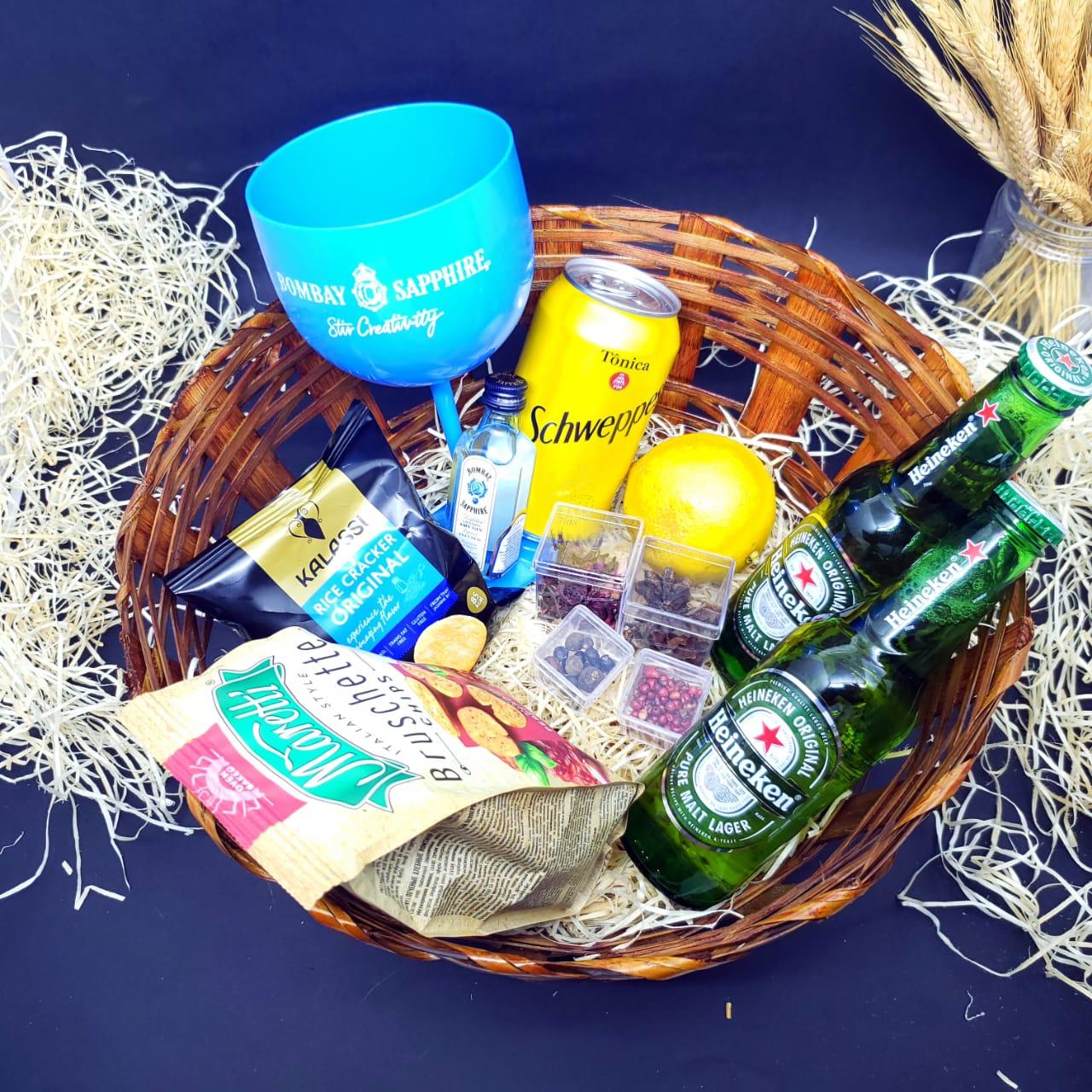Happy Hour - Gin Tônica + Cervejas  - Octo em Casa