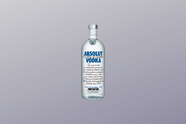 Vodka Absulut - 1000 ml  - Octo em Casa