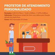 Protetor para Atendimento / Caixa