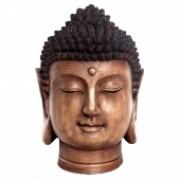 Budda Decorativo Em Resina - Cabeça