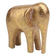 Elefante de Resina Dourado