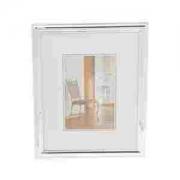 Porta Retrato Aço Prateado15x20cm