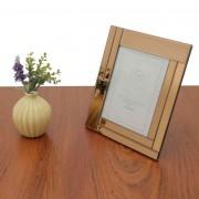 Porta Retrato Espelhado Rose 20x25cm