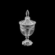 Potiche Com Pé de Cristal 11,5x24,5cm