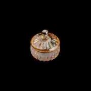 Potiche De Cristal Ambar 14x14cm