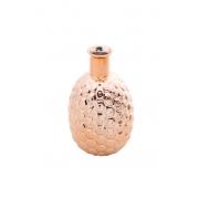 Vaso Cerâmica Cobre Abacaxi 12x22cm