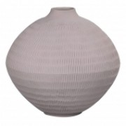 Vaso de Cerâmica Cinza 31CM X 31CM X 28CM