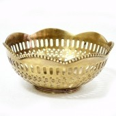 Bowl De Metal Decorativo