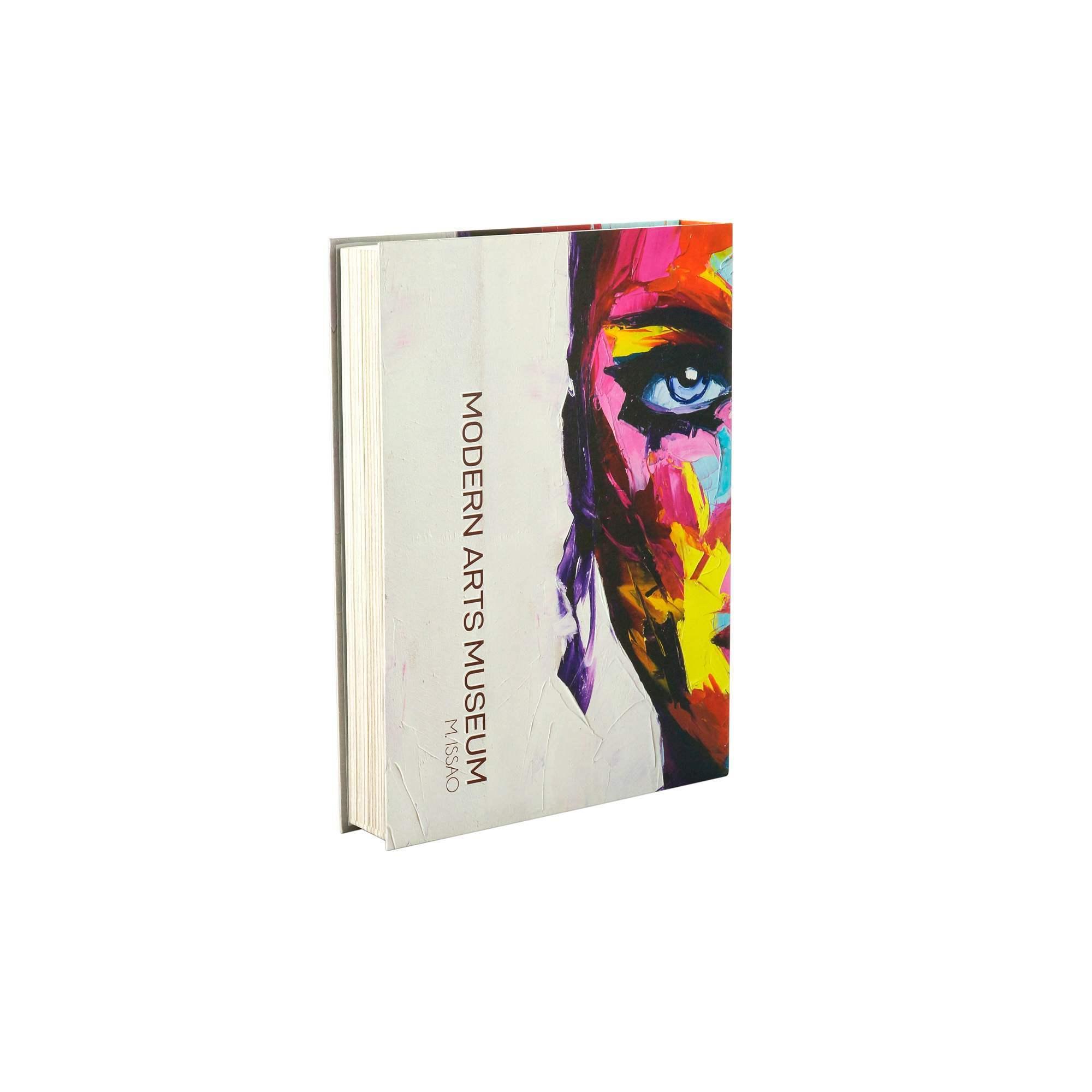 Caixa Livro Papel Rigido Modern Arts 36x27x5cm