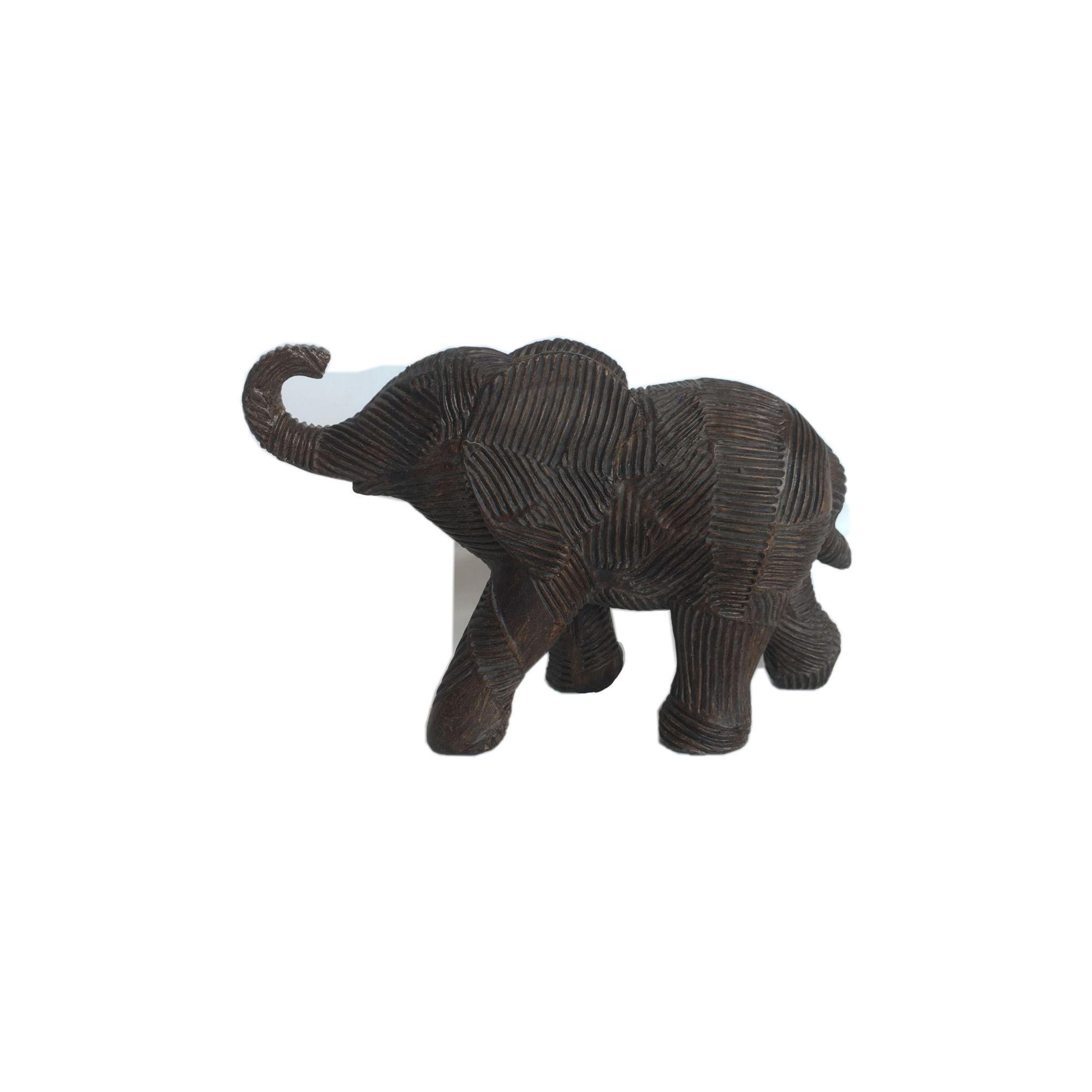 Elefante de Resina Bronze