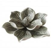 Flor Decorativa De Cerâmica Verde 17CM X 13,8CM X 6,4