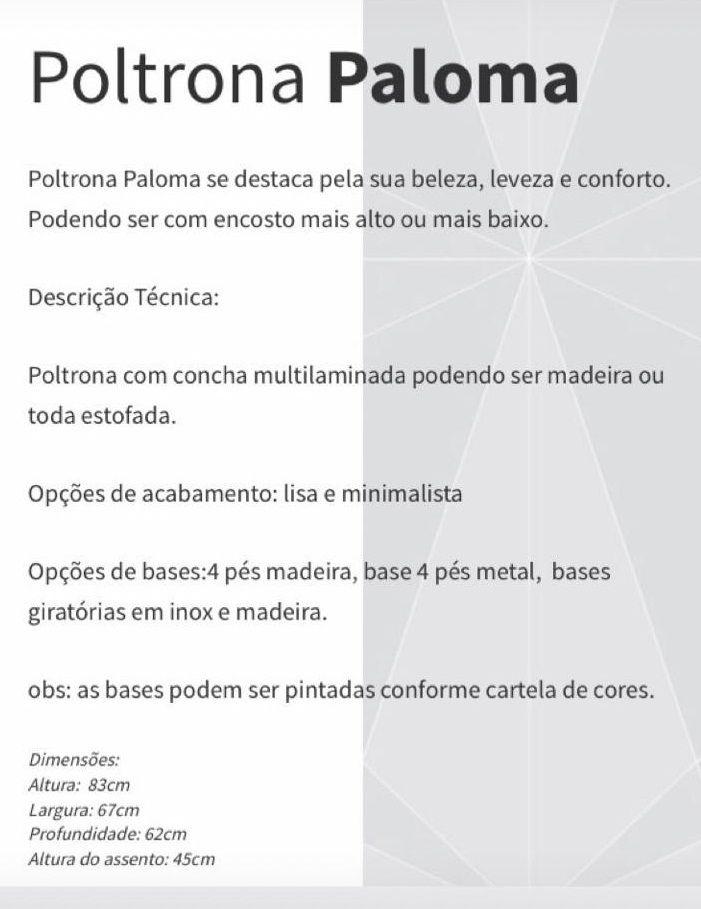 Poltrona Paloma Lisa