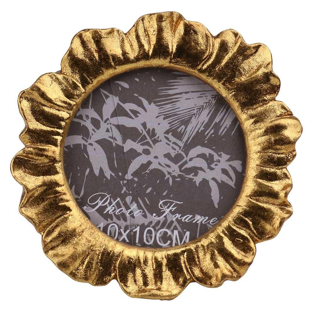 Porta Retrato de Resina Dourado