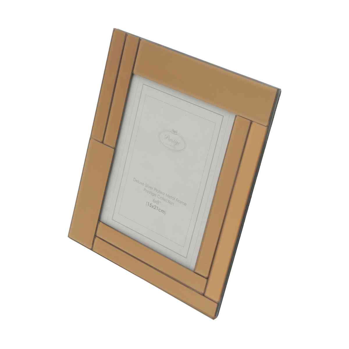 Porta Retrato Espelhado Rose 15x20cm