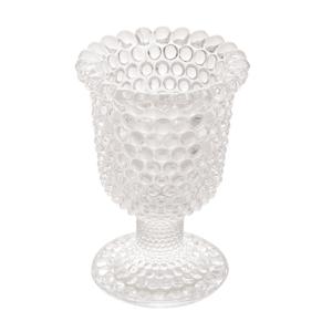 Porta Vela/Vaso de Vidro Bubble 9,5x13cm