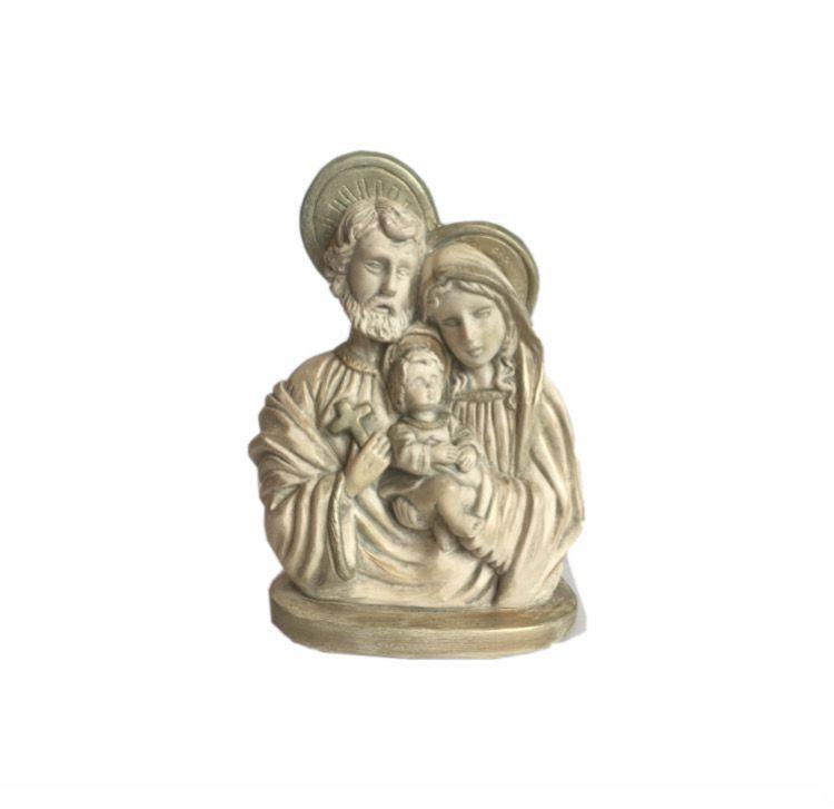 Sagrada Família Busto em Pedra