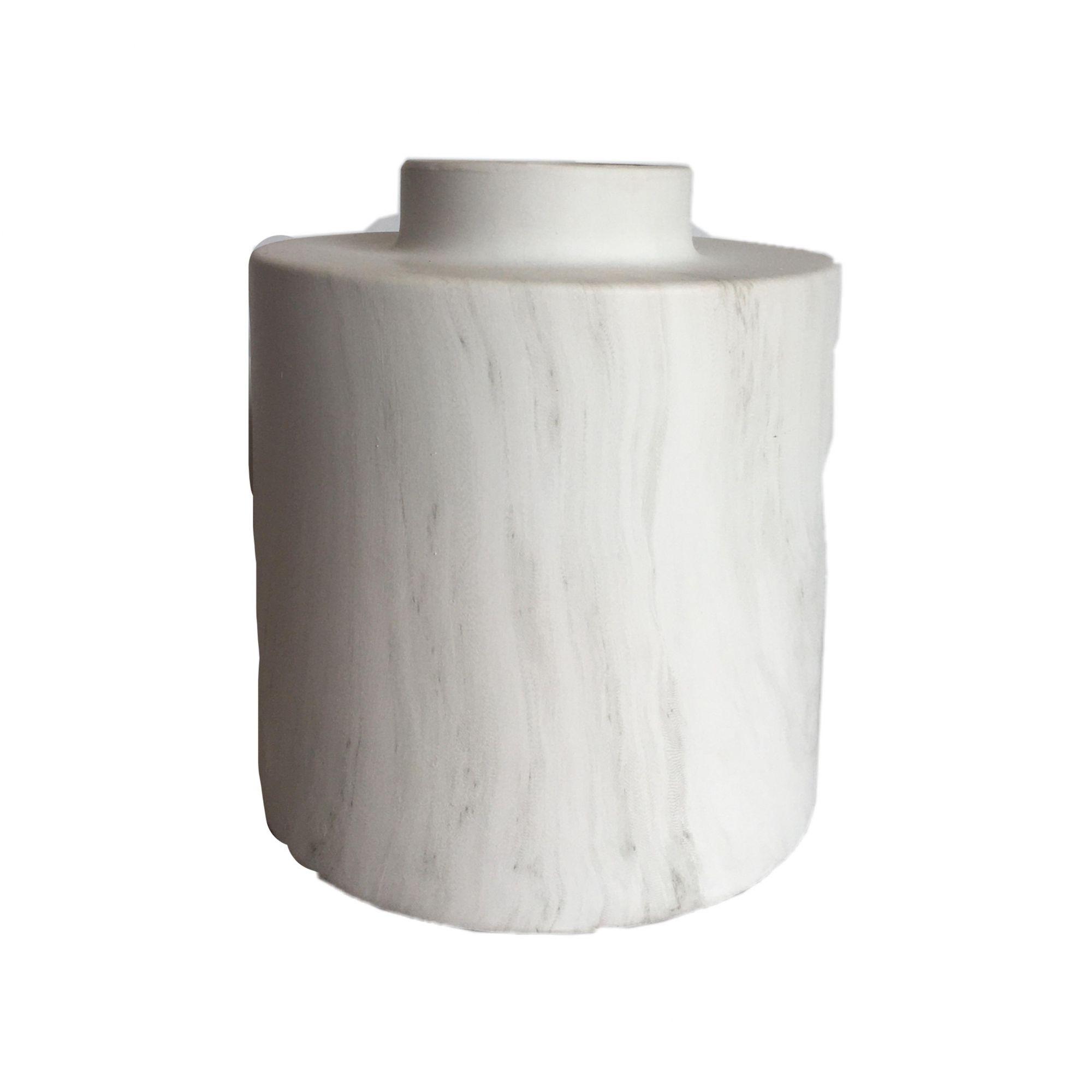Vaso de Mármore em Cerâmica