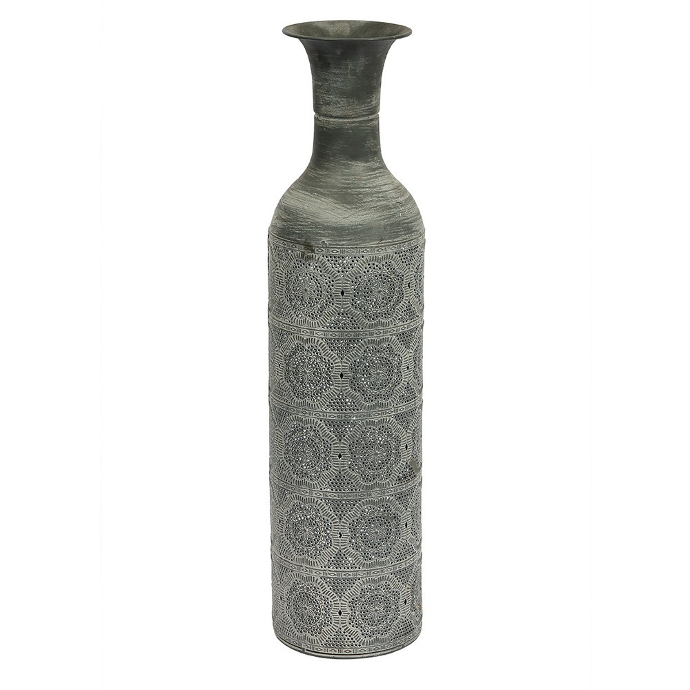 Vaso de Metal Prata