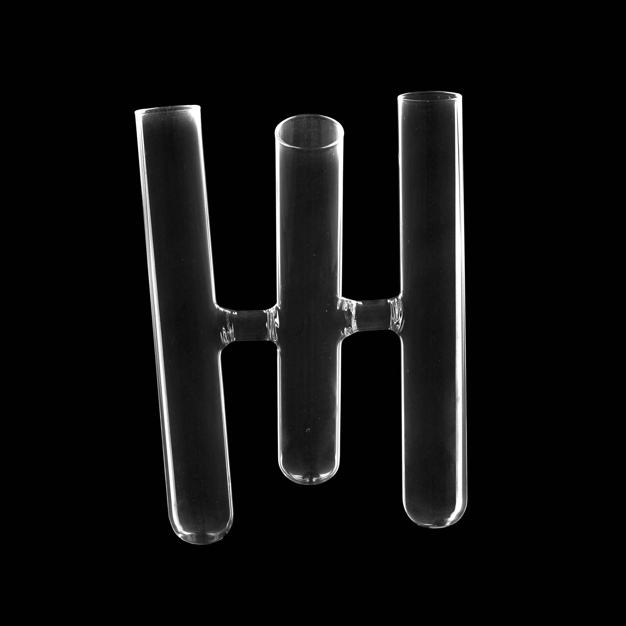 Vaso Vidro Transparente 15x12x20cm