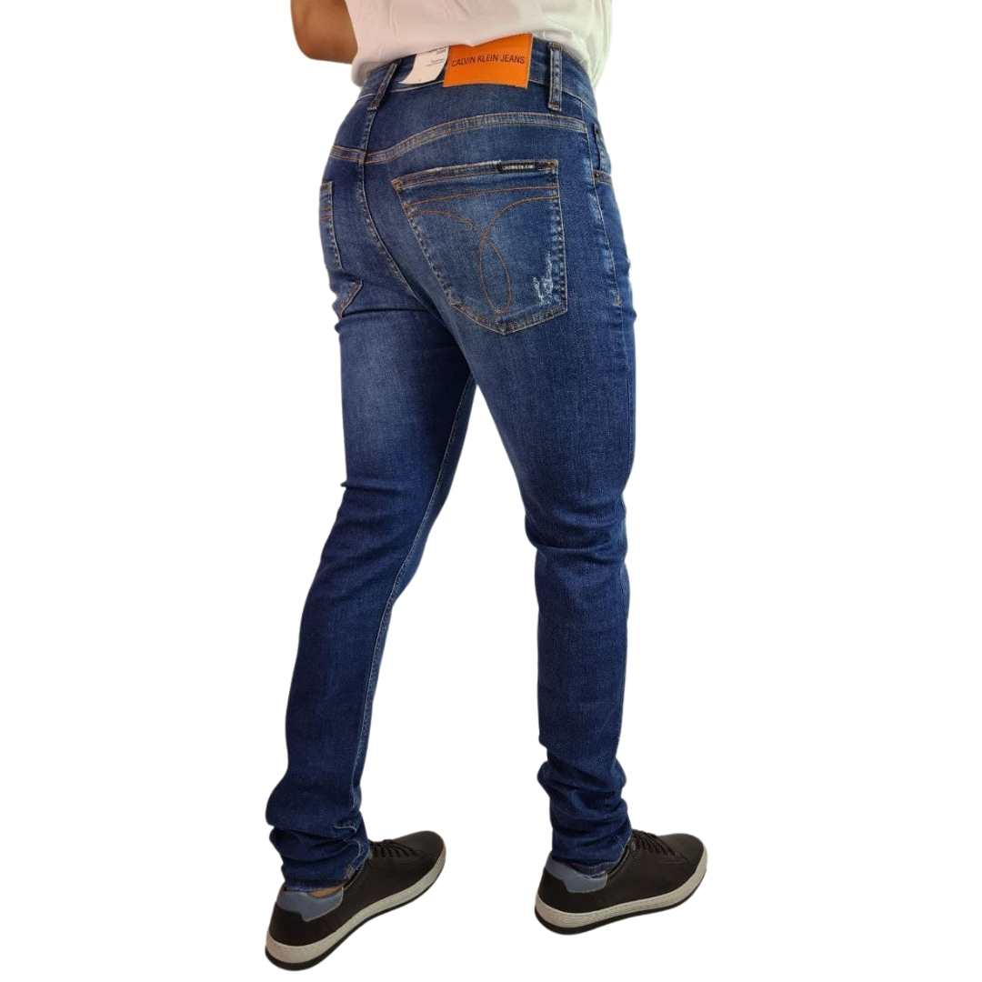 Calça Calvin Klein Jeans Five Pockets Skinny