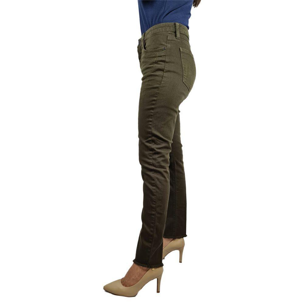 Calça Color Five Pockets High Rise Slim Calvin Klein