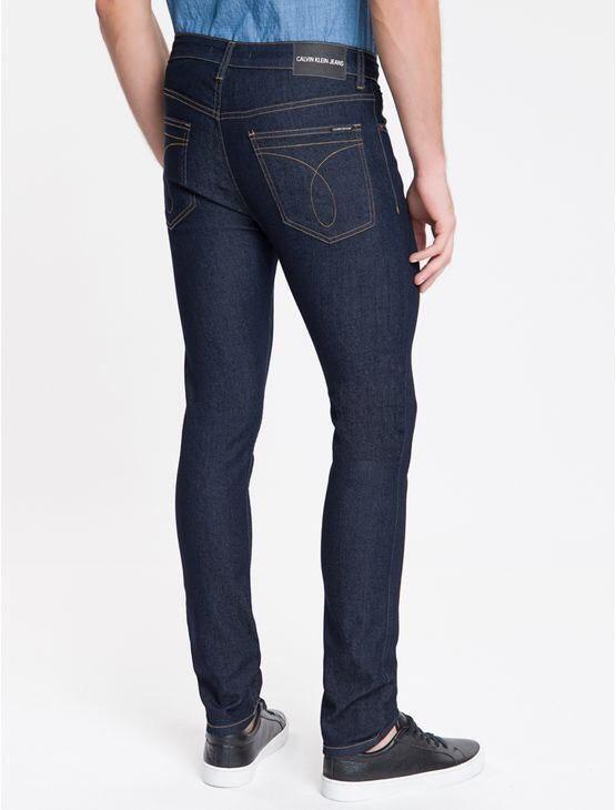Calça Jeans Super Skinny Calvin Klein