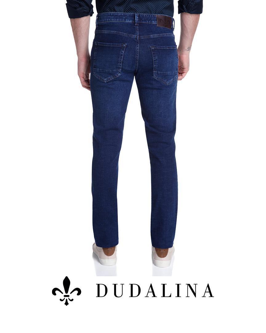 Calça Jeans Bottons Longos Concept Class Dudalina