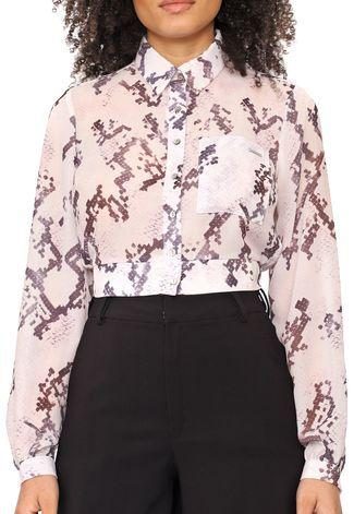 Camisa Cropped ML Dimy