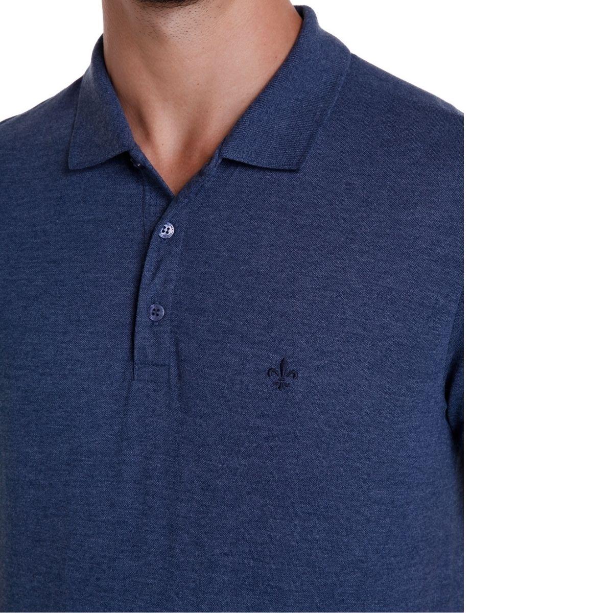 Camisa Dudalina Polo Manga Curta