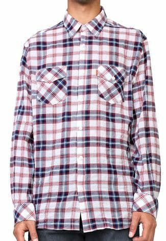 Camisa Ellus MAnga Longa Relexed Pocket Classic French