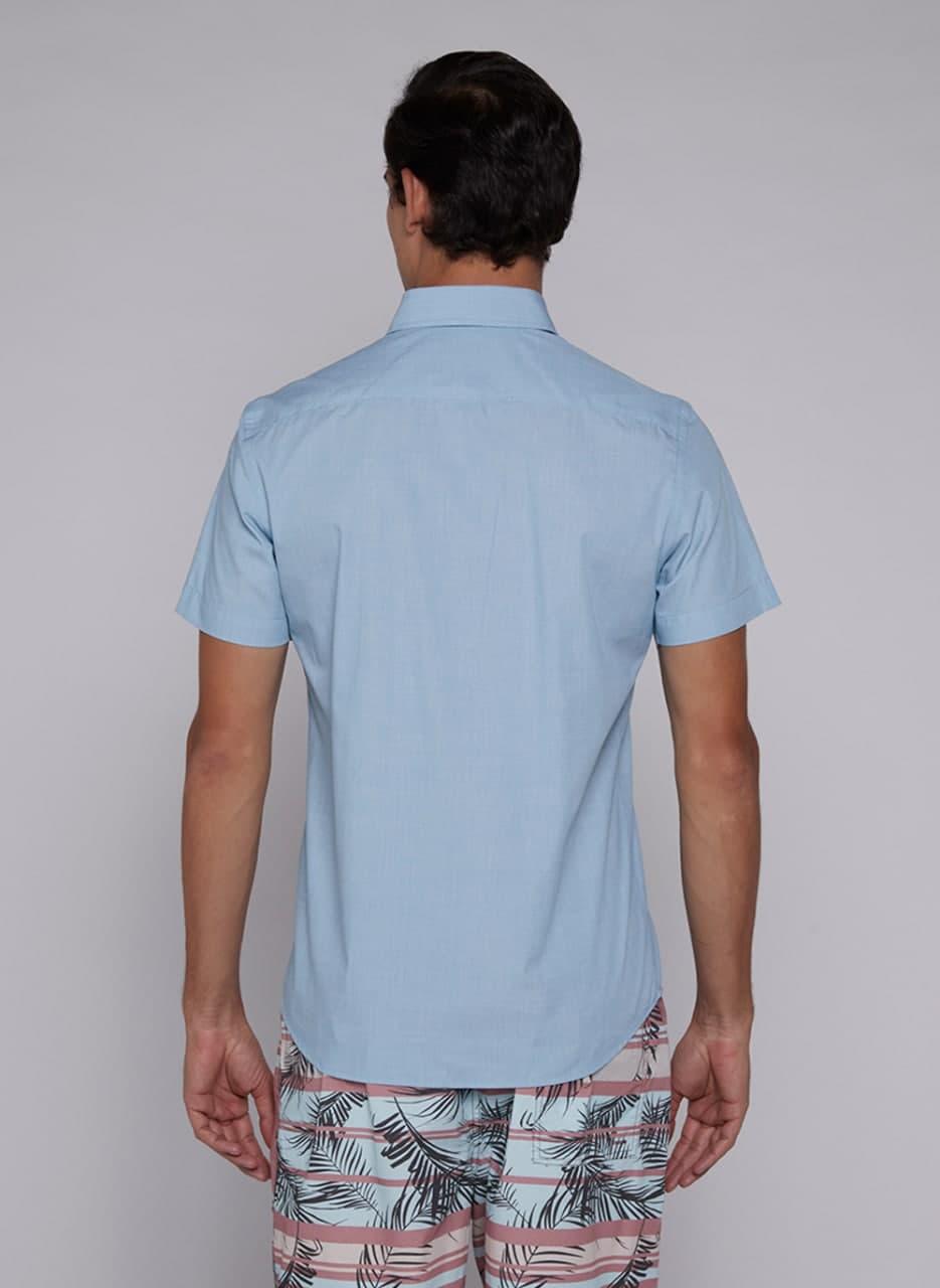 Camisa Individual Manga Curta Comfort Lisa Color
