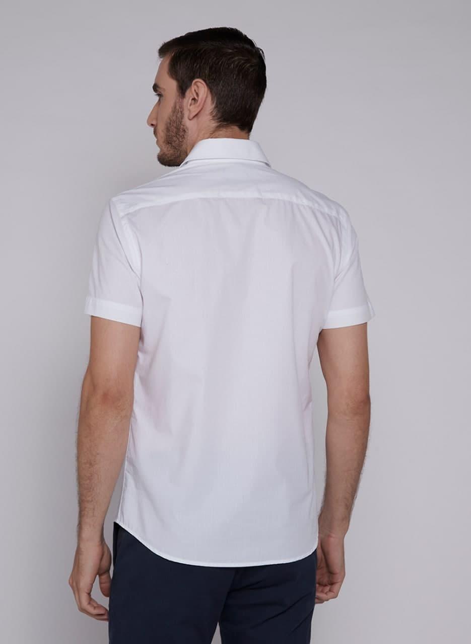 Camisa Individual Manga Curta Comfort Maquinetada