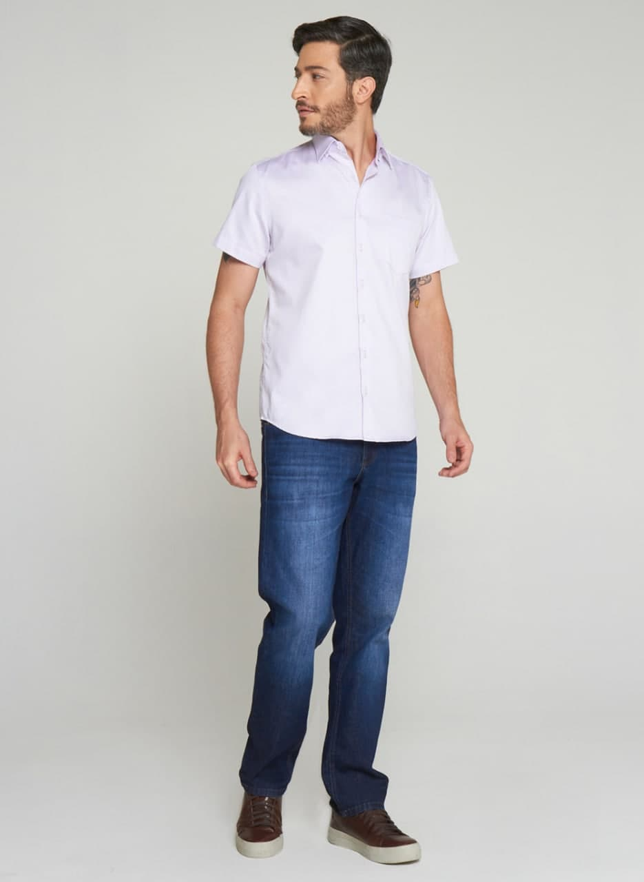 Camisa Individual Manga Curta Mix Comfort Fit