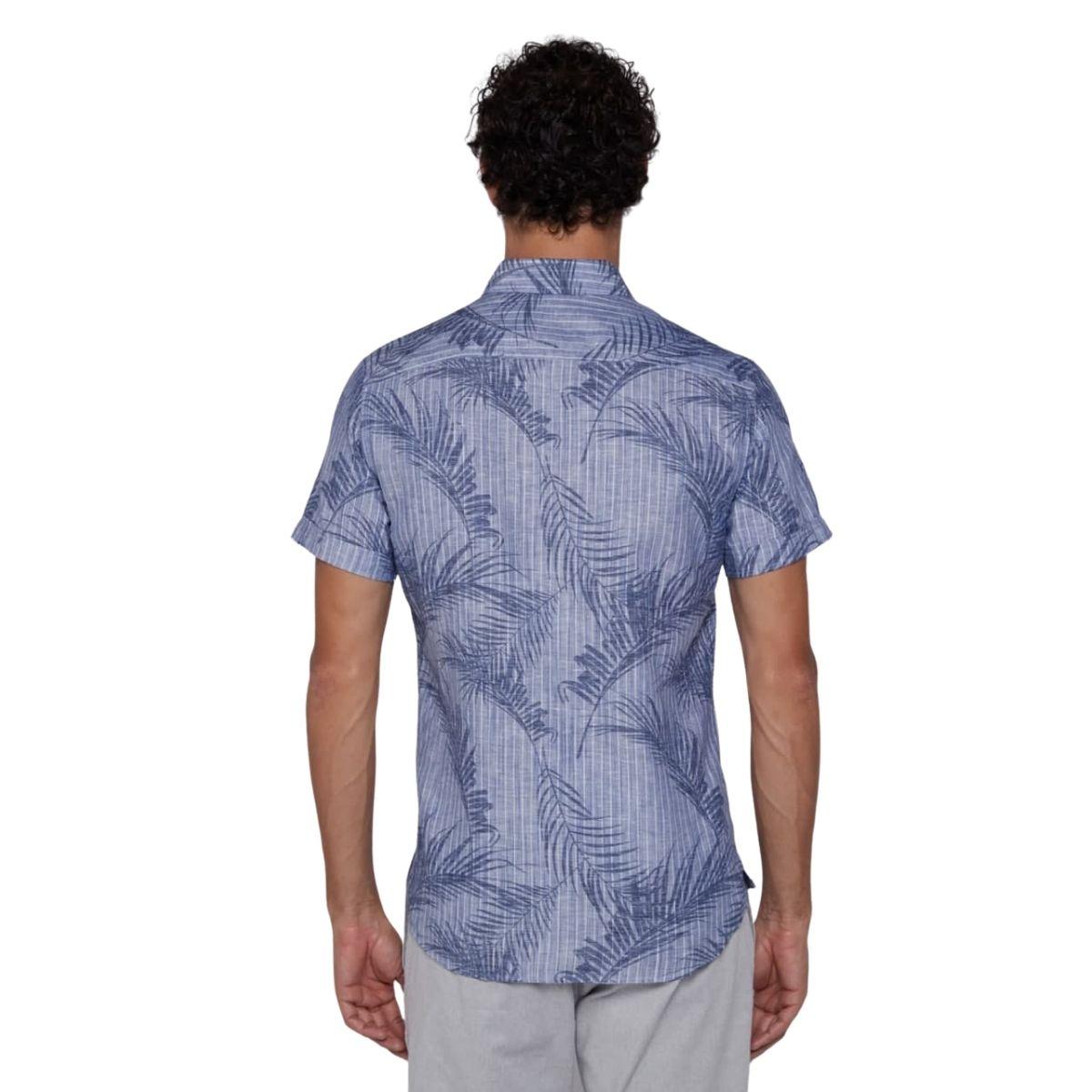 Camisa Individual Manga Curta Slim Estampada