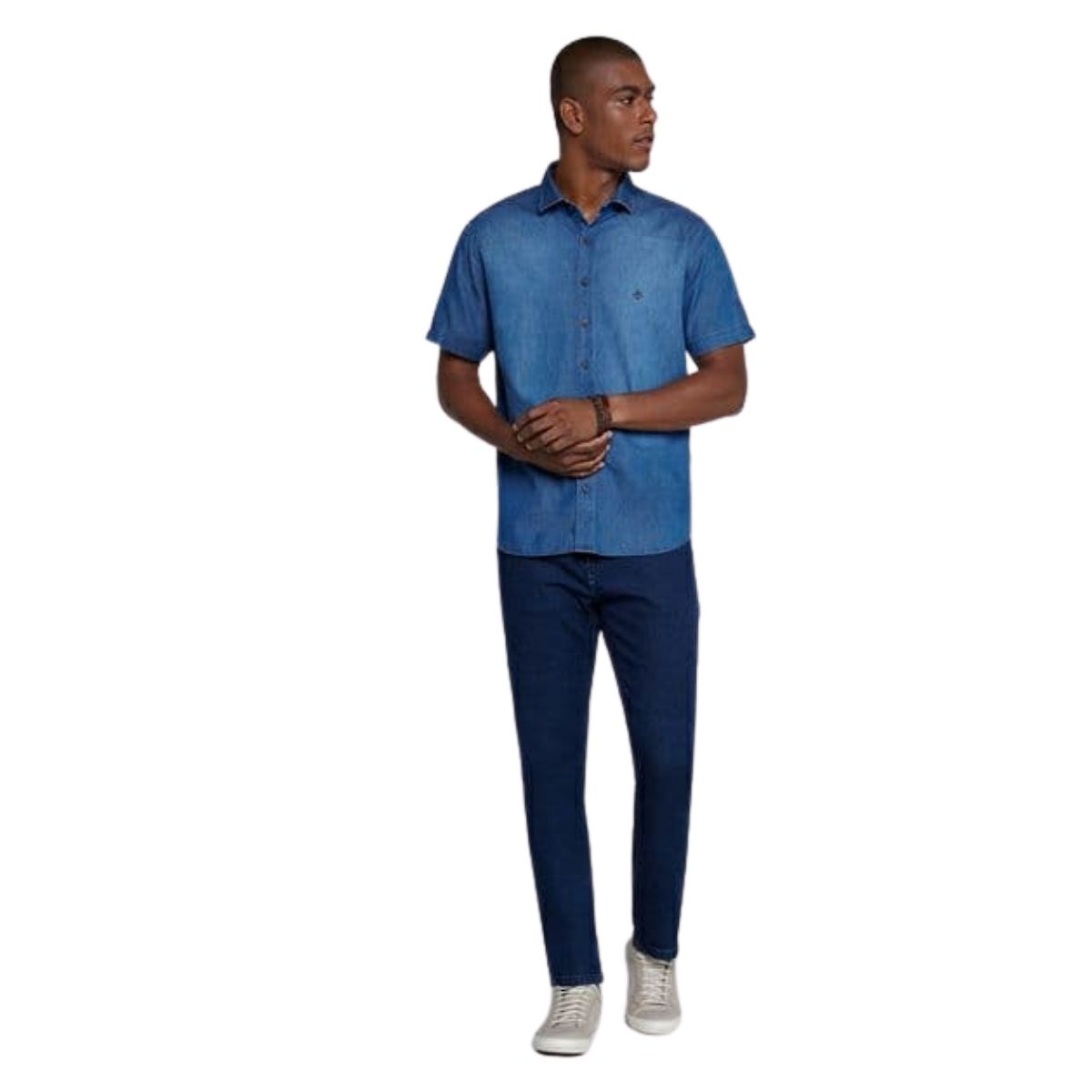 Camisa MC Jeans Com Pala Dudalina
