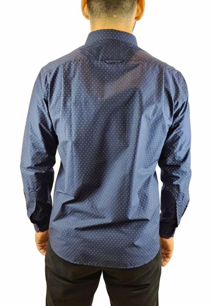 Camisa Ml Comfort Estampada Individual