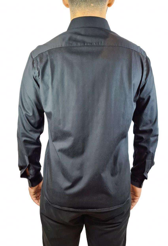 Camisa ML Comfort Jacquard Individual