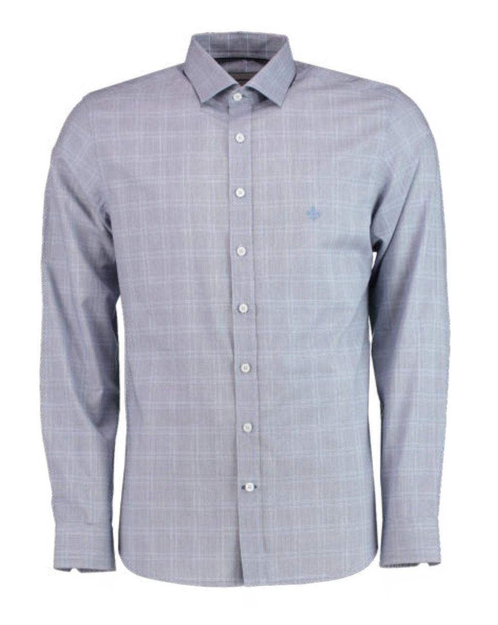 Camisa ML Fio Tinto Dudalina